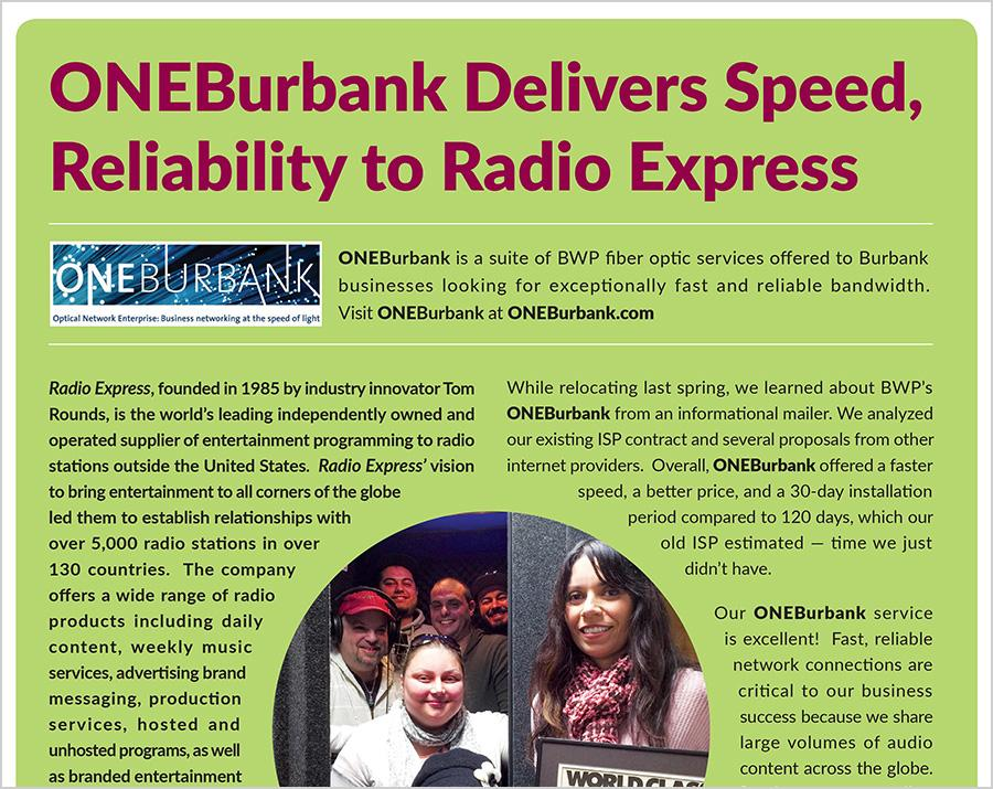 Delivering Speed and Reliability to Radio Express