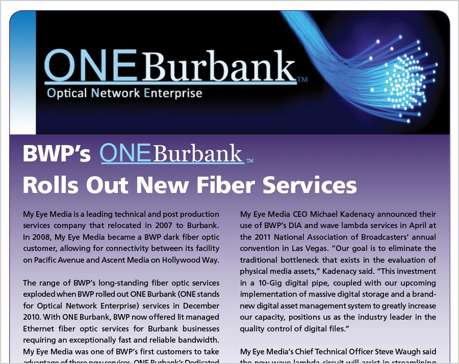 BWP Rolls Out New Fiber Services