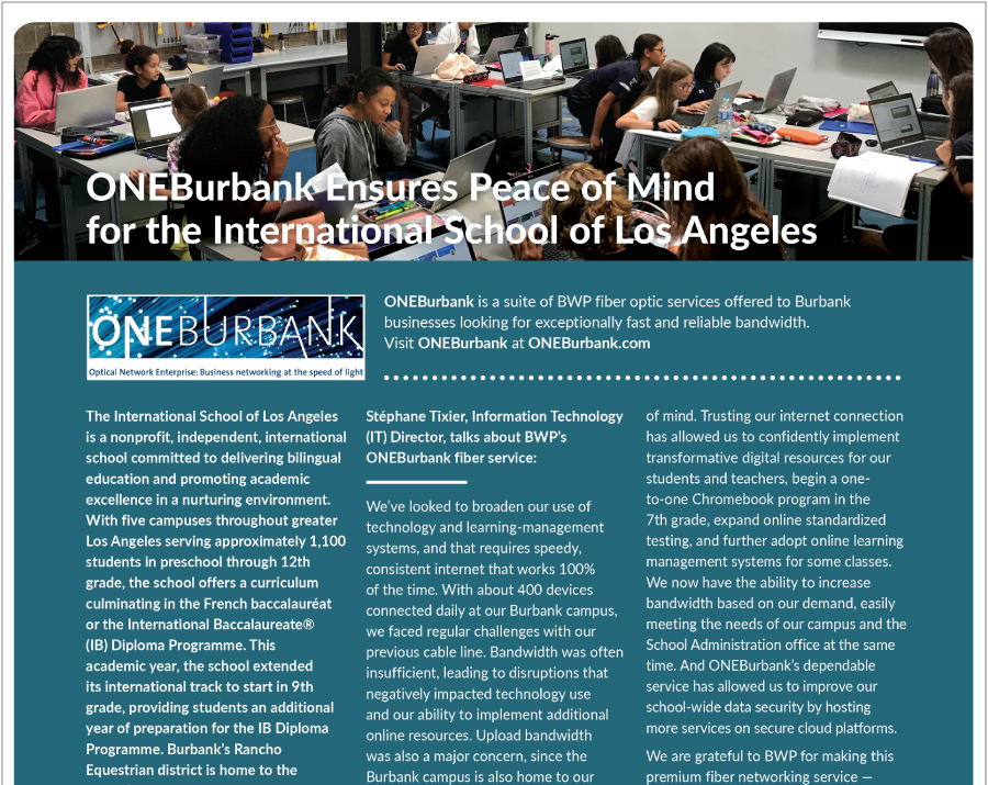 Ensuring Peace of Mind for the International School of LA